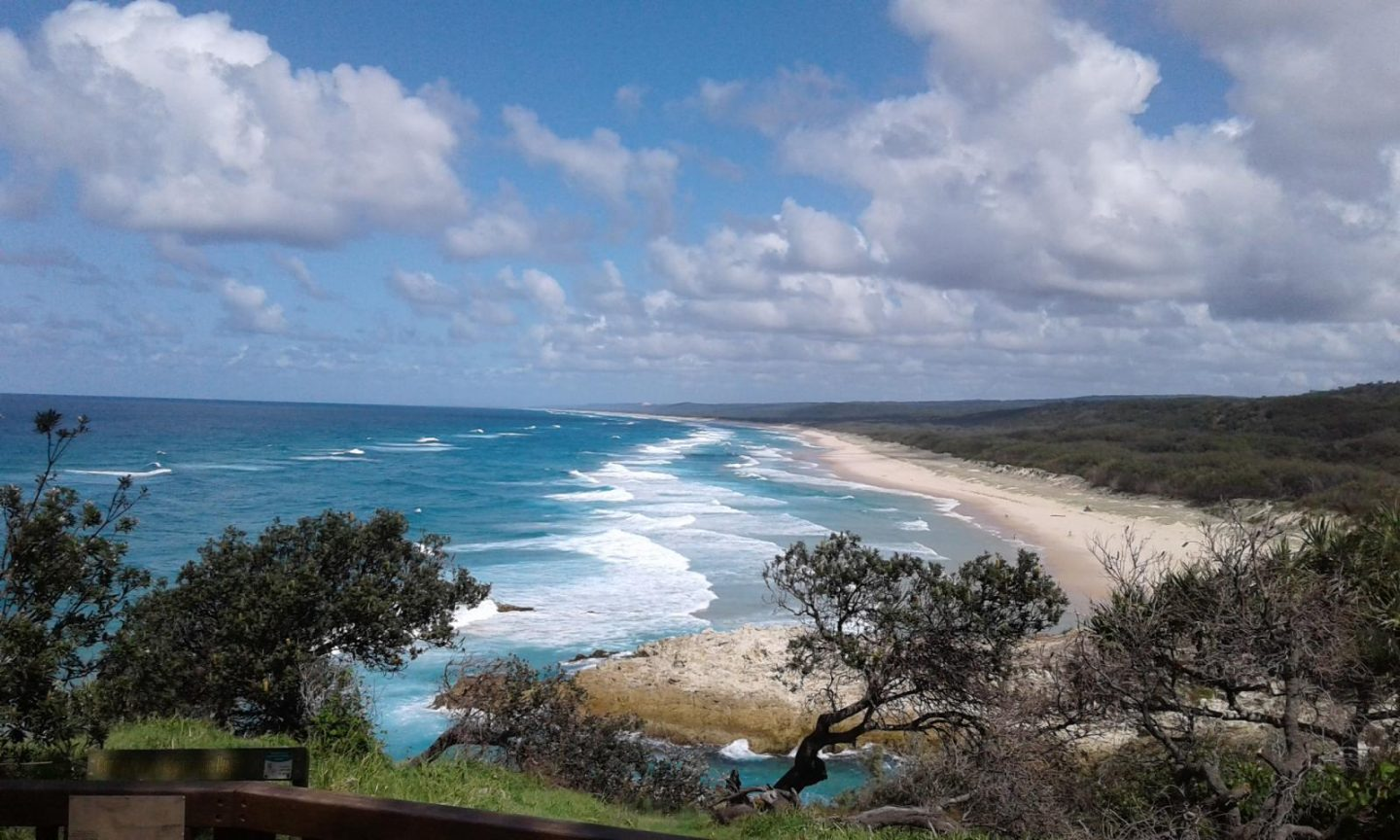 My first time at North Stradbroke Island