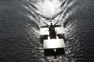Solar boat competition in Brazil