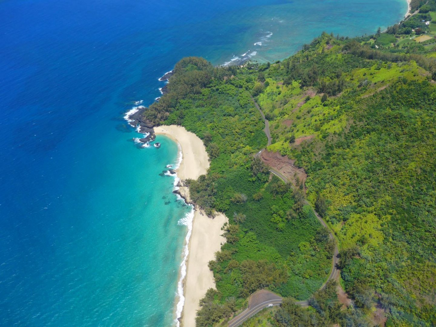 Travel to Hawaii - view from the helicopter ride